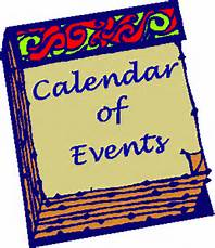 Calendar of Events - January